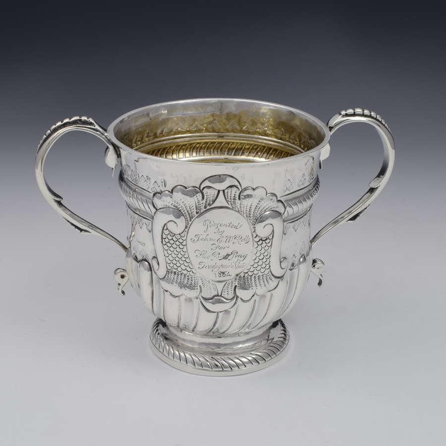 George I Silver Twin Handled Loving Cup Joseph Bell I