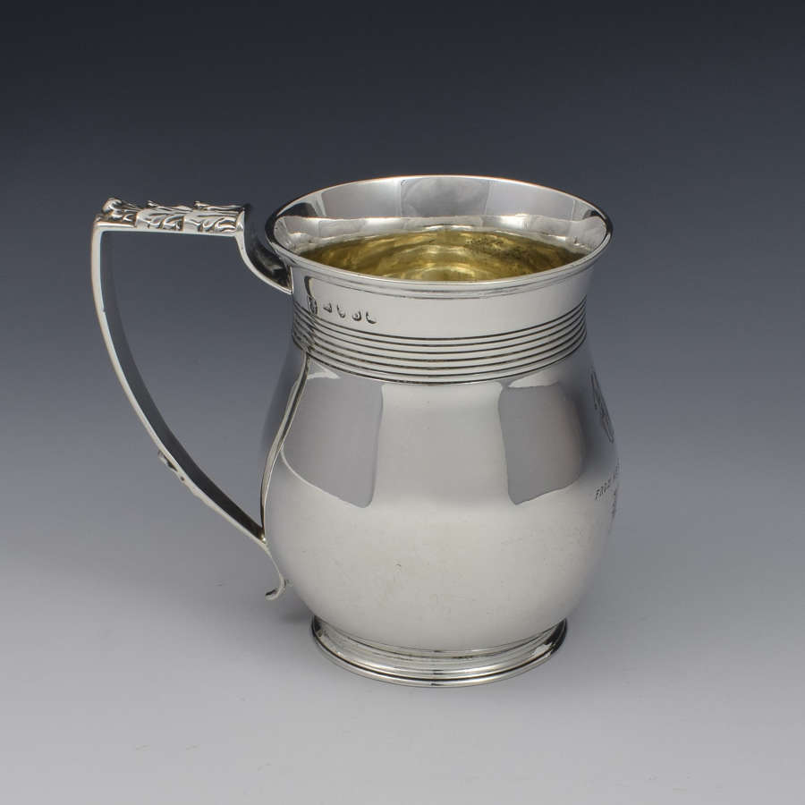 George III Silver Baluster Christening Mug Emes & Barnard