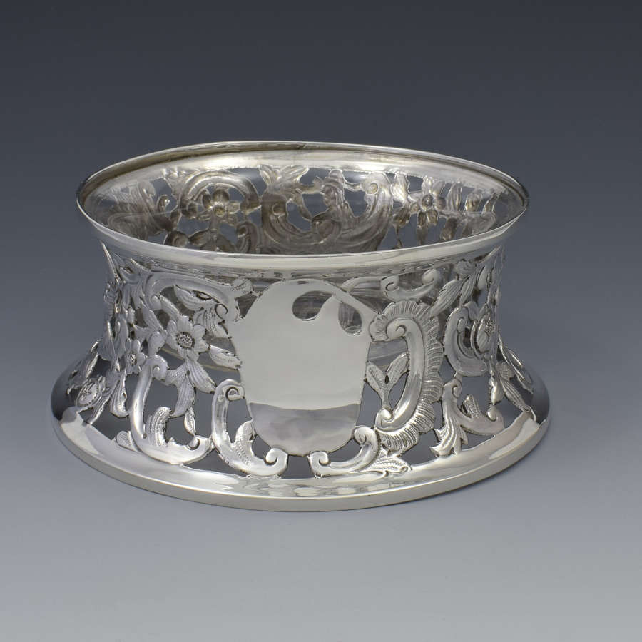 George V Silver Dish / Potato Ring London 1912