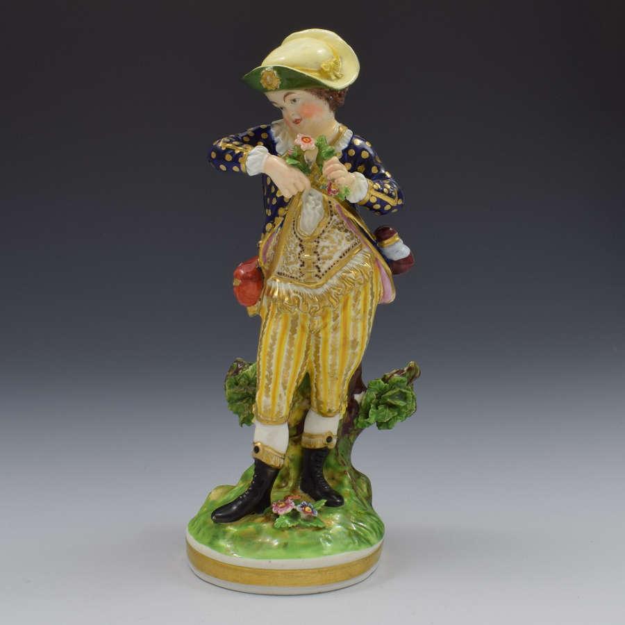 Bloor Derby Porcelain Figure French Seasons Spring N123