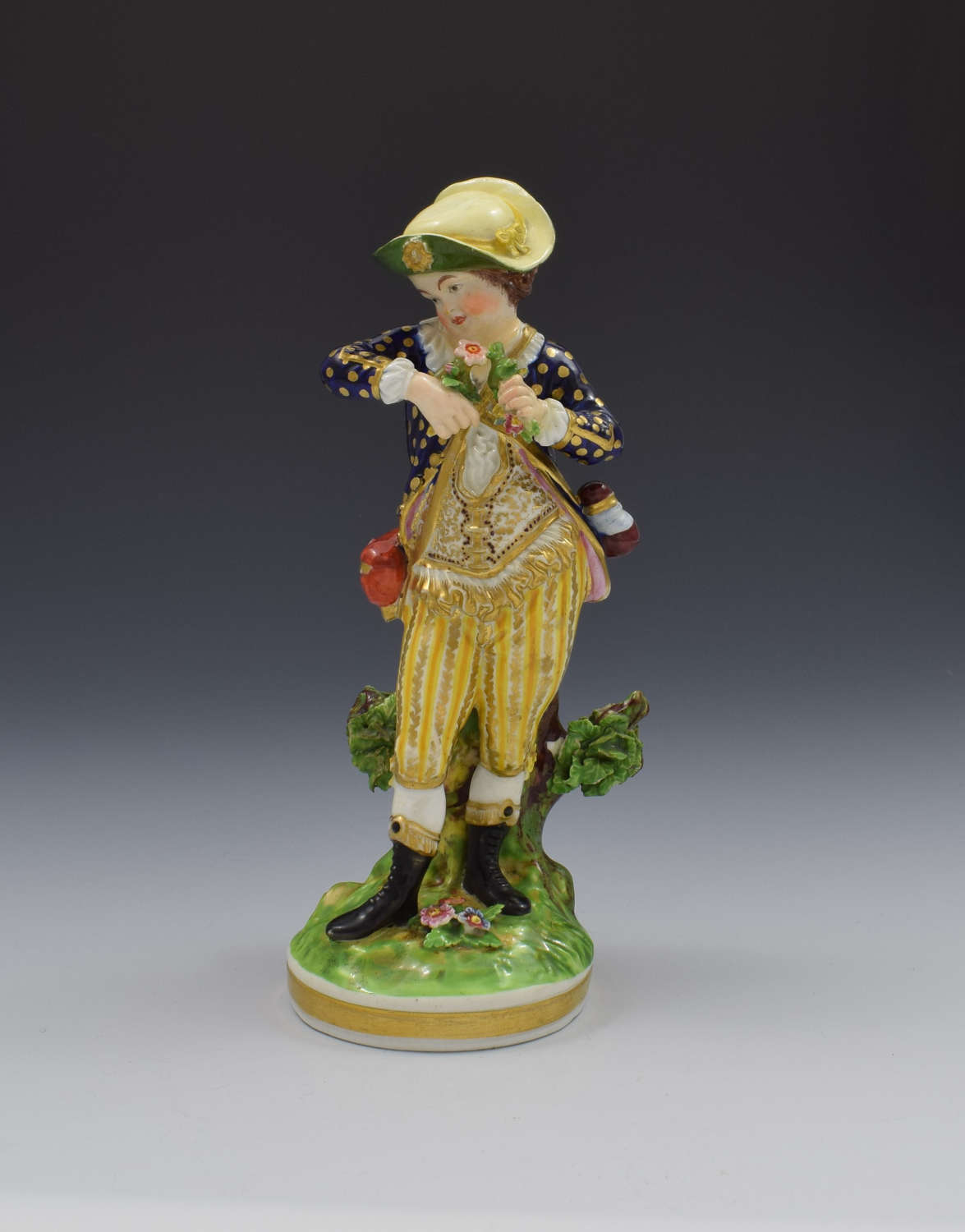 Bloor Derby Porcelain Figure French Seasons Spring N123