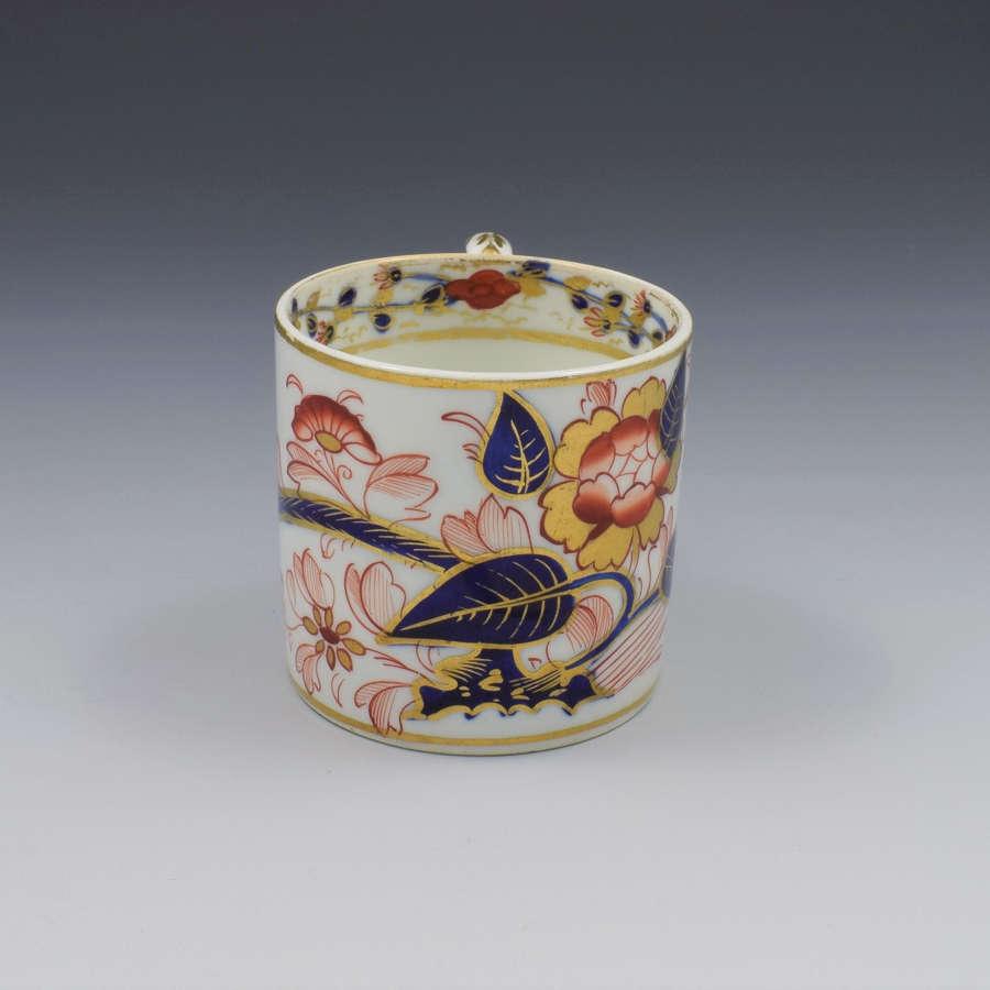 Georgian Derby Porcelain Imari Pattern Coffee Can C.1820