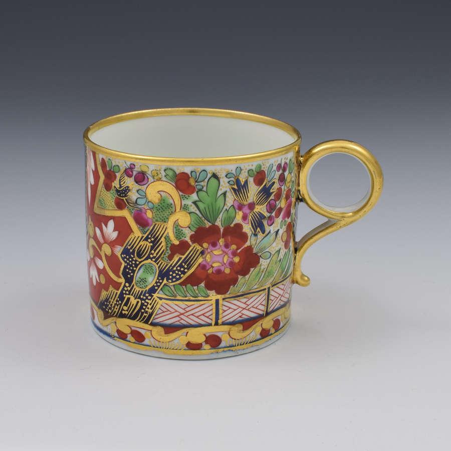 Barr, Flight & Barr Worcester Porcelain Crazy Japan Coffee Can