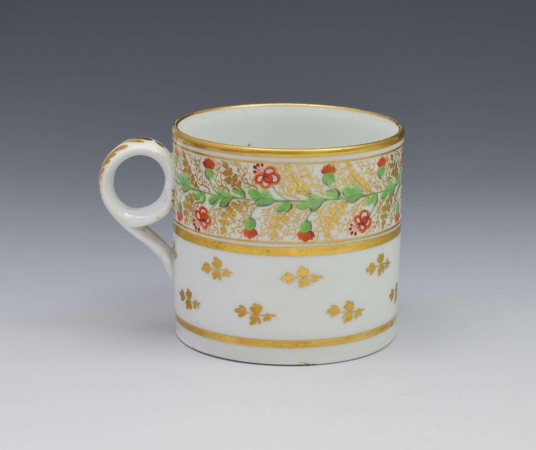 Minton Porcelain Coffee Can Pattern 73, C.1810
