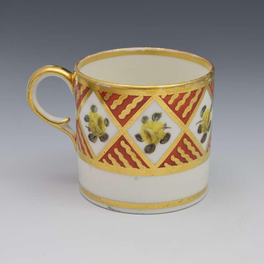 Georgian Derby Porcelain Coffee Can C.1810 Pattern 591