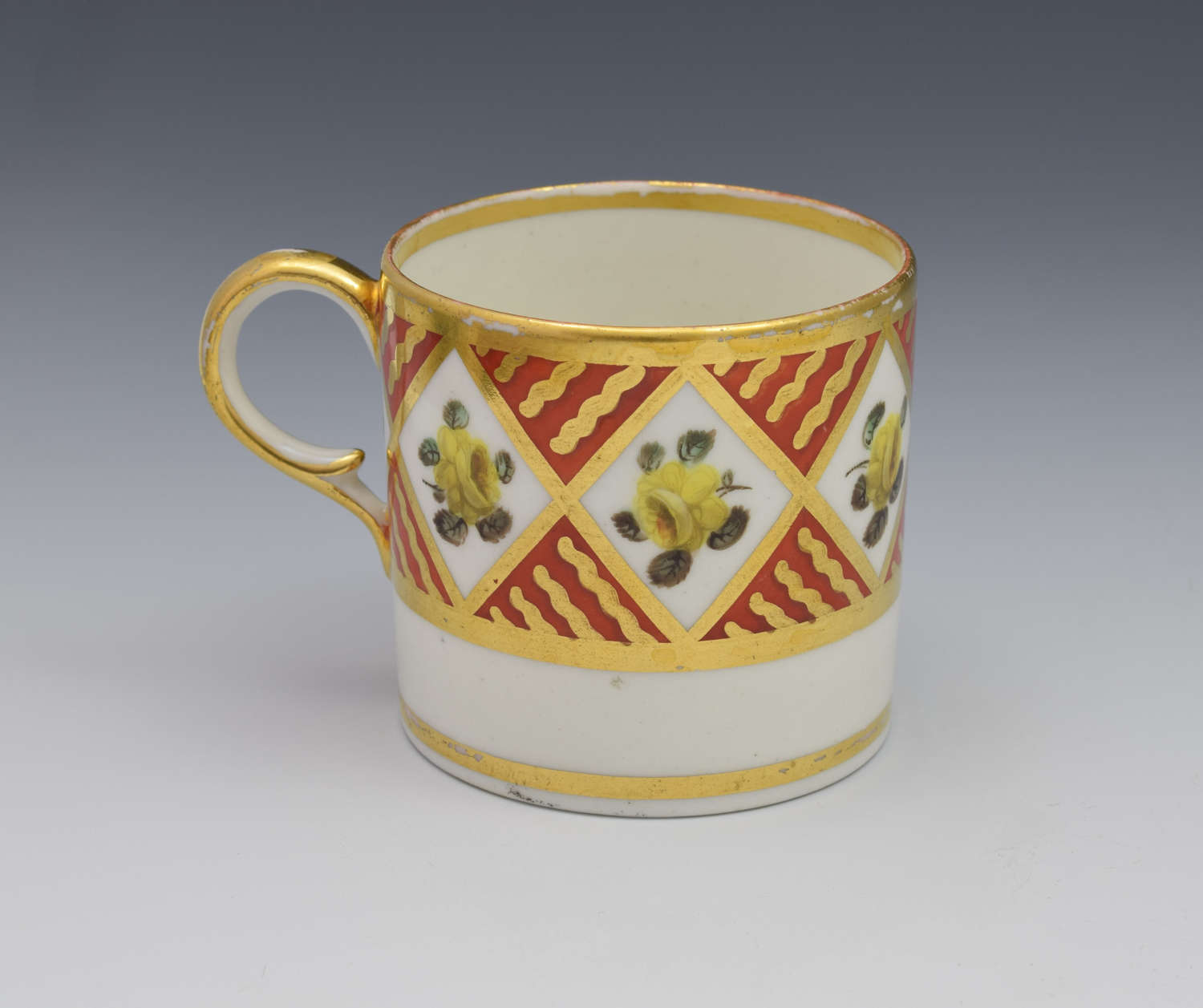 Georgian Derby Porcelain Coffee Can C.1810 Pattern 591