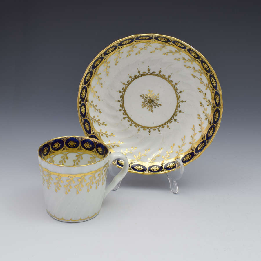 Chamberlain Shanked Coffee Can & Saucer Pattern 61 C.1795
