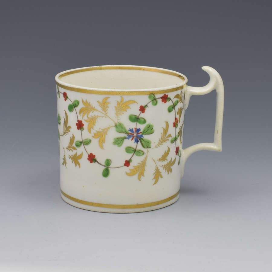 Derby Porcelain Coffee Can London Handle, C.1815