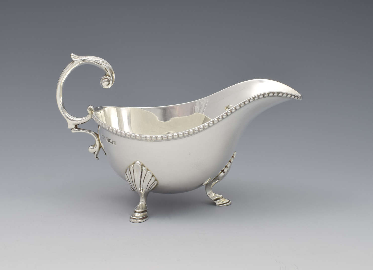 George V Silver Sauceboat Mappin & Webb 1911 Sauce Boat
