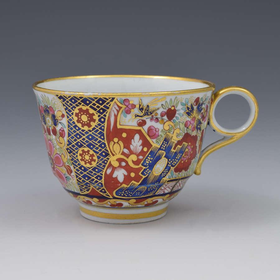 Barr Flight & Barr Period Worcester Imari Japan Tea Cup C.1810