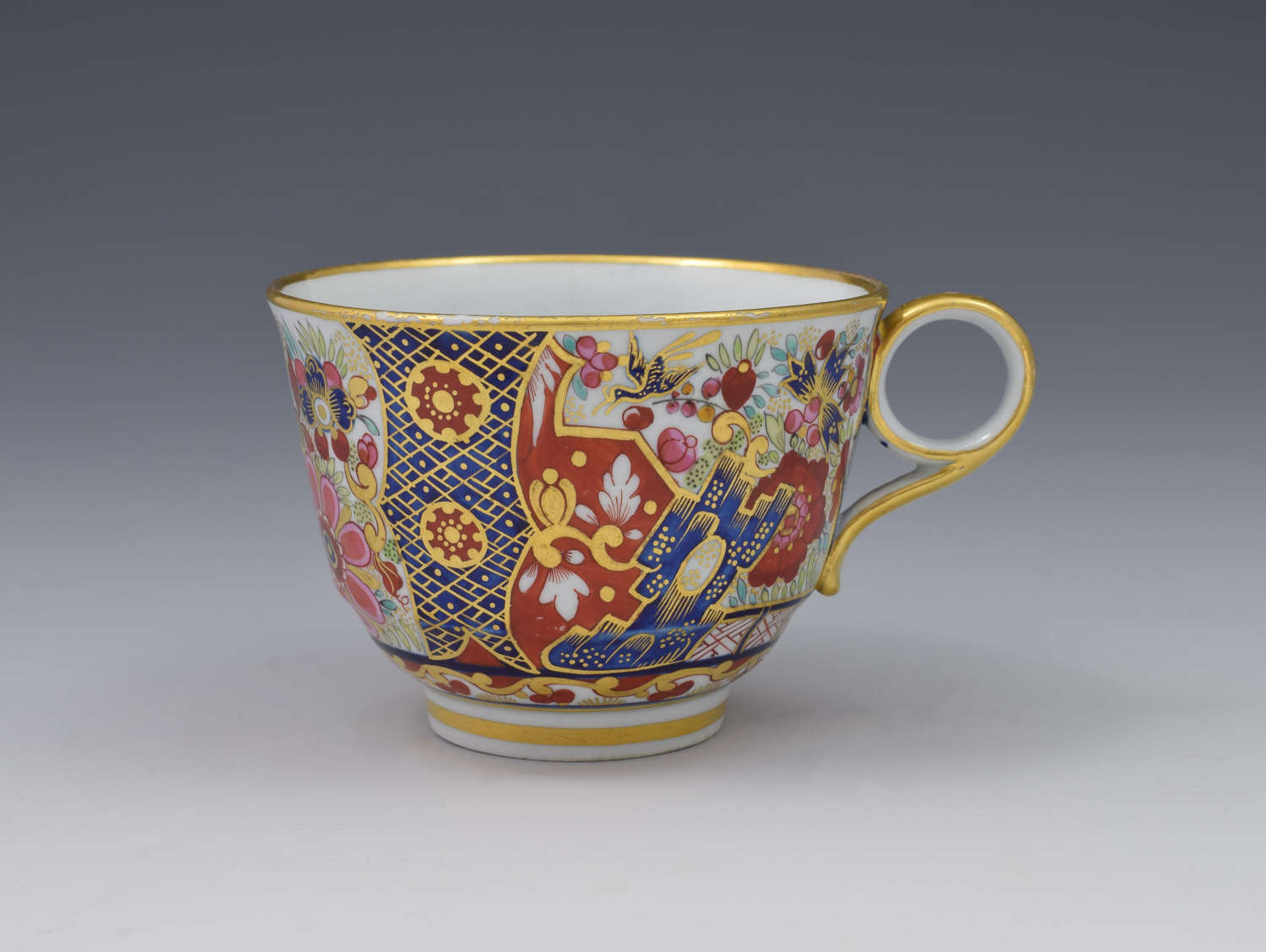 Barr Flight & Barr Period Worcester Imari Japan Tea Cup C.1810