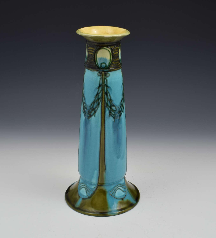 Large Art Nouveau Minton Secessionist Vase John Wadsworth 3652