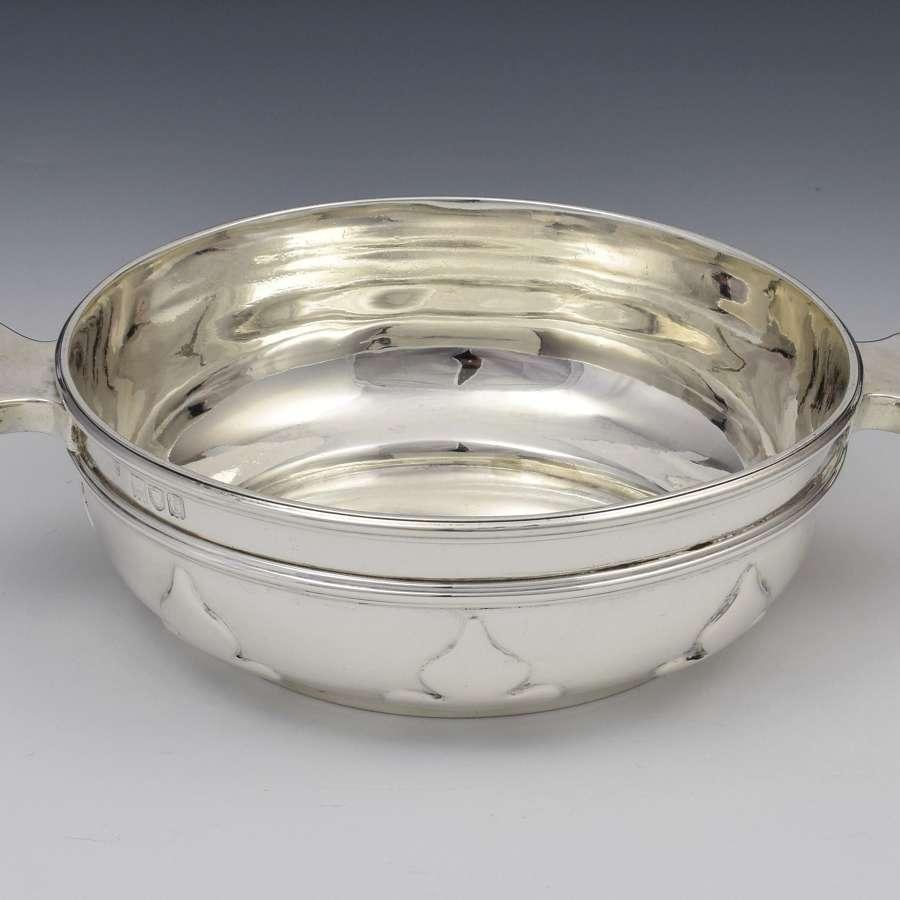 Art Nouveau Silver Quaich Fairpoint Brothers London 1898