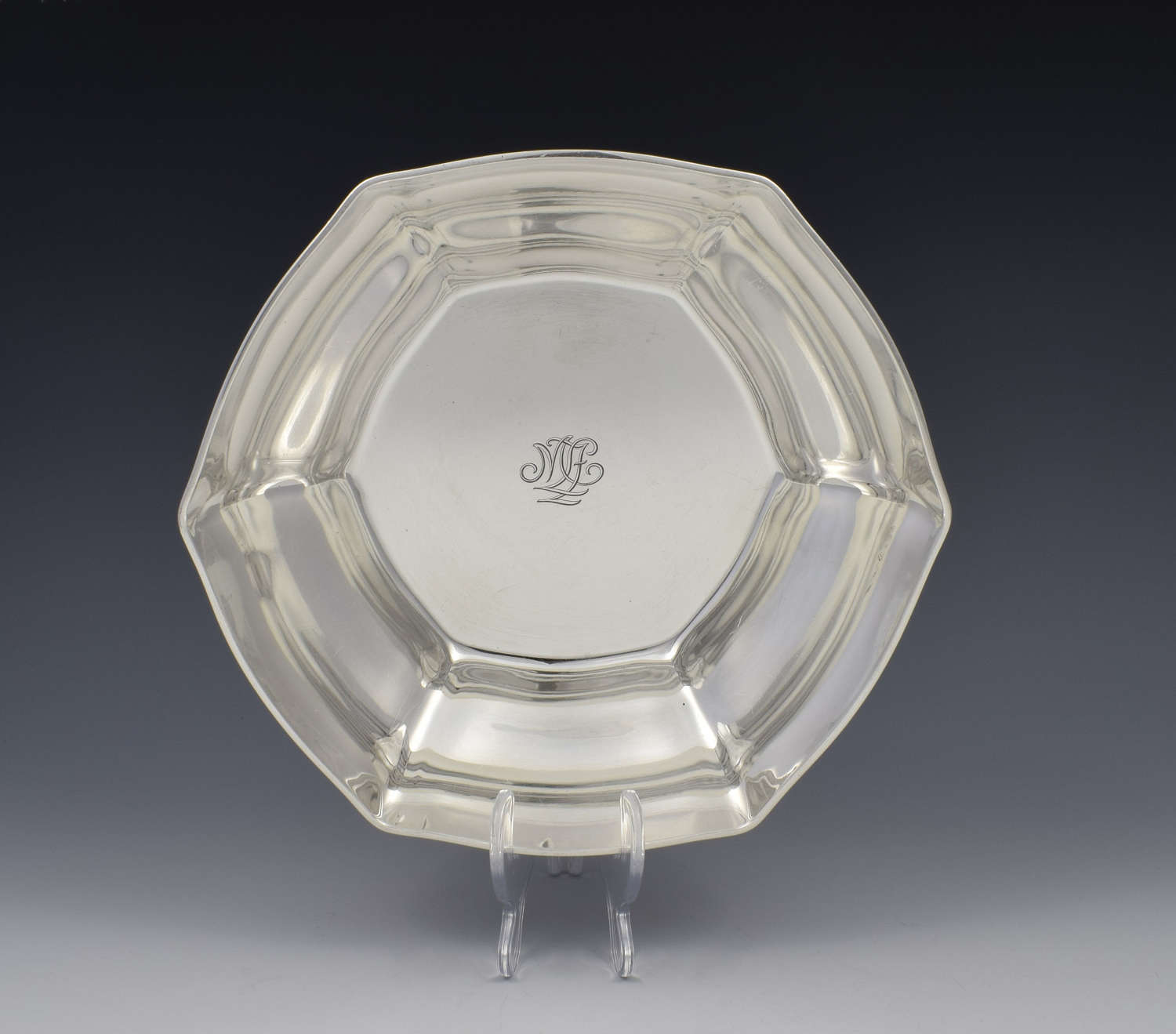 Large Tiffany & Co. Sterling Silver Fruit Bowl C.1911