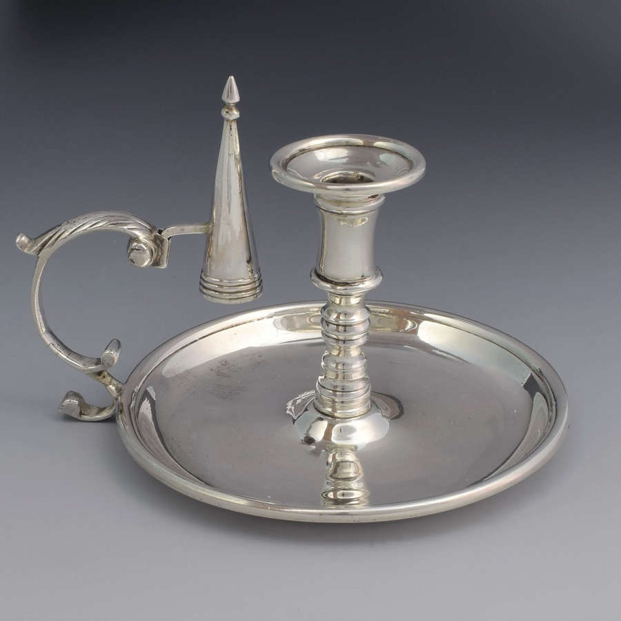 George III Silver Chamberstick John Lias London 1806