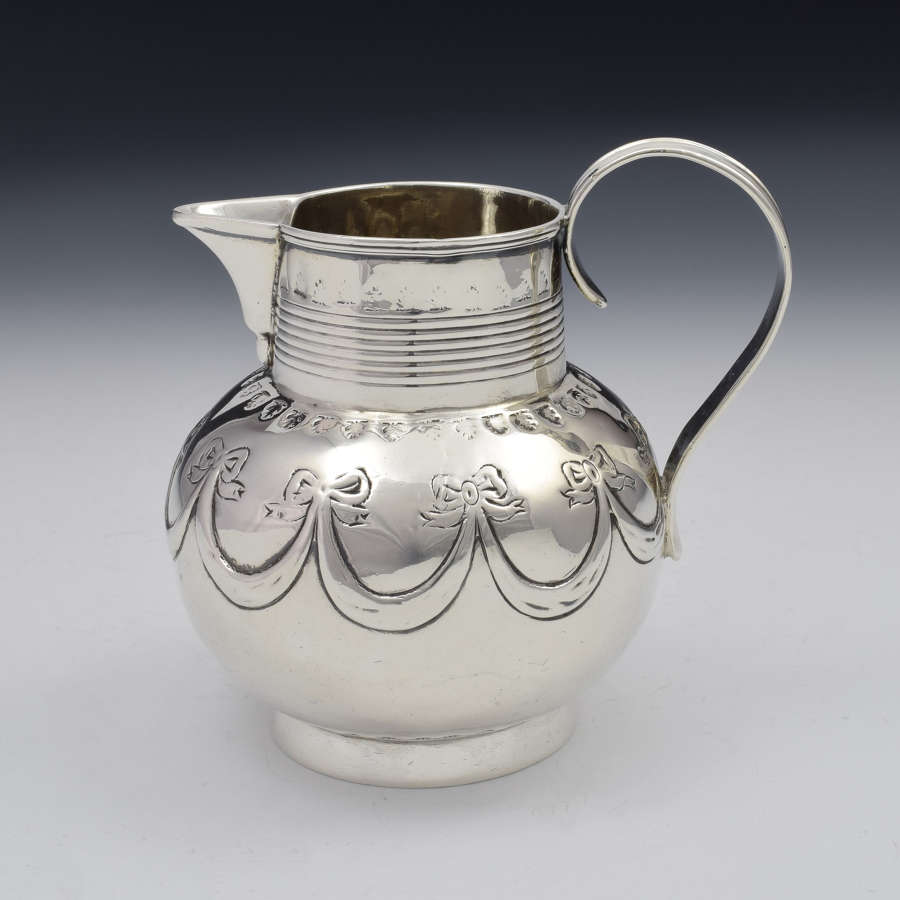 George III Silver Sparrow Beak Cream Jug London 1801