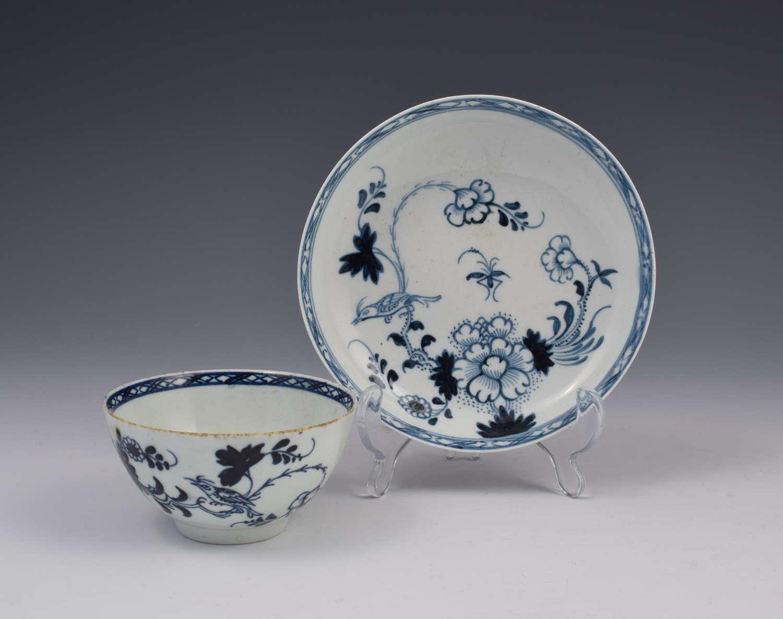 Christians Liverpool Porcelain Liverbird Tea Bowl & Saucer