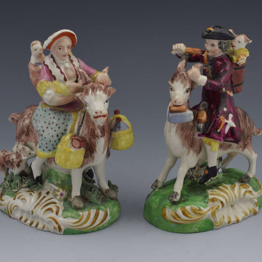 Staffordshire Figures The Welch Tailor & Family