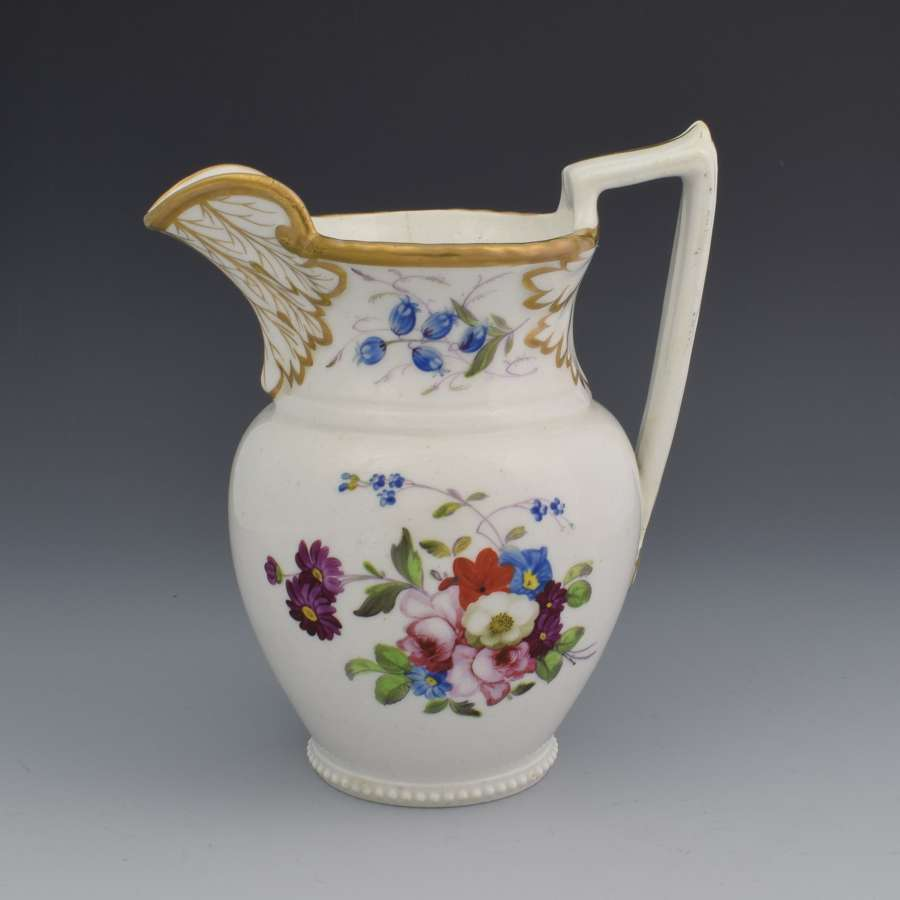 English Porcelain Georgian Cream Jug c.1825