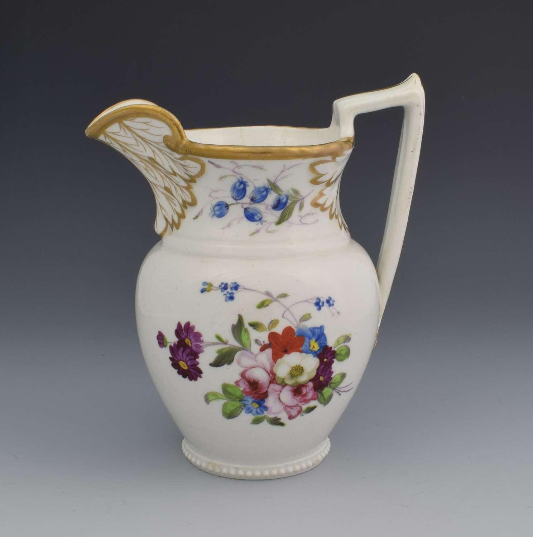 English Porcelain Georgian Cream Jug c.1825