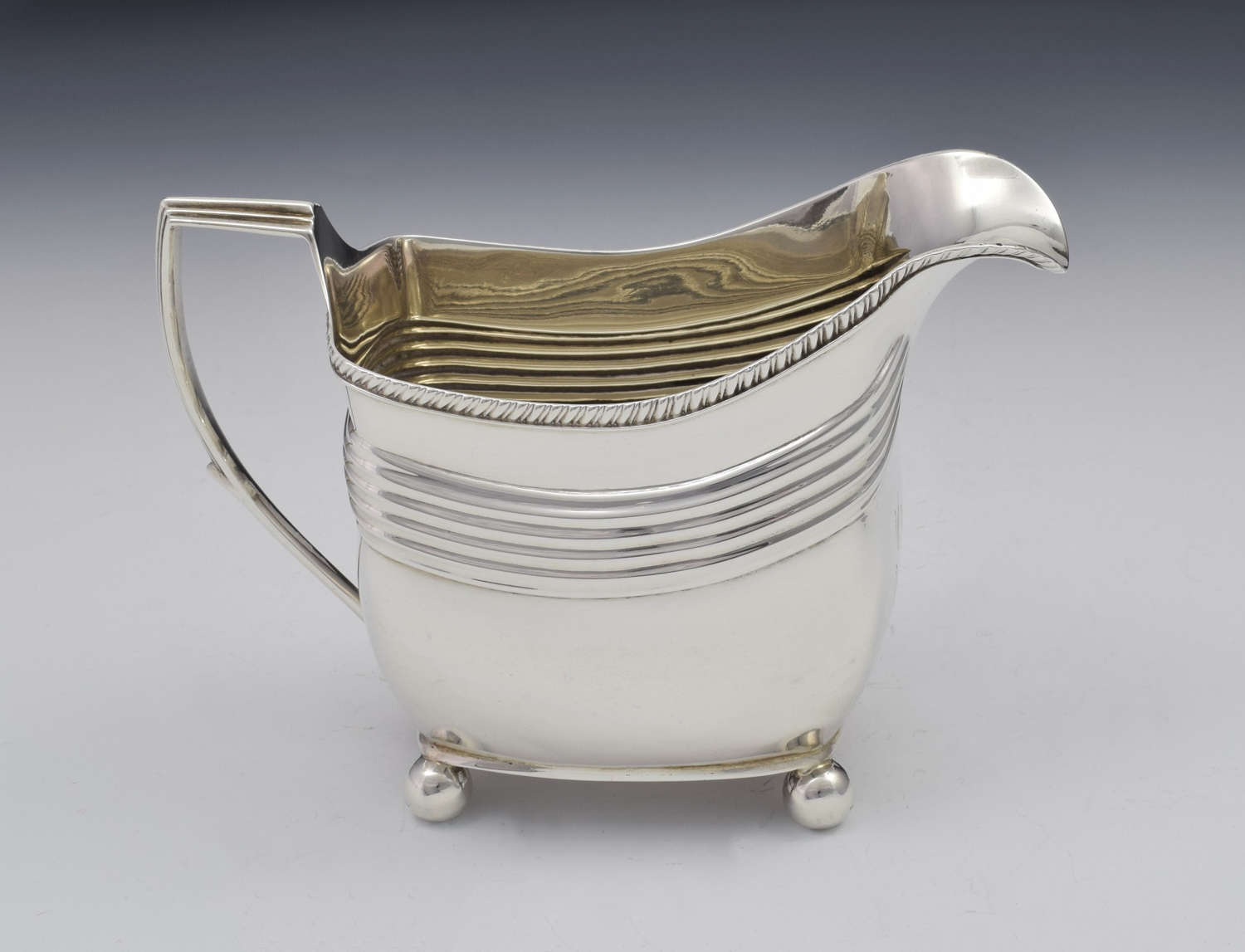 George III Silver Cream Jug London 1808