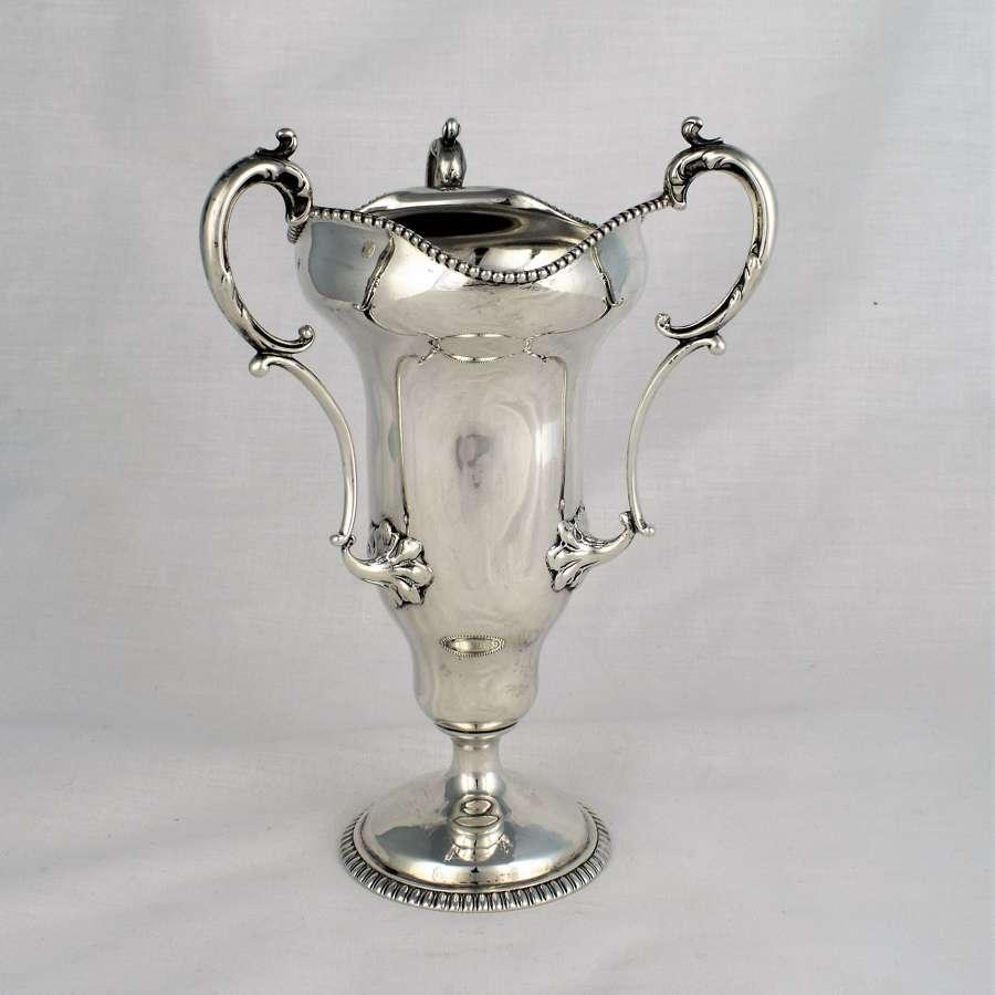 American Sterling Silver Art Nouveau Tyg Goblet c.1900