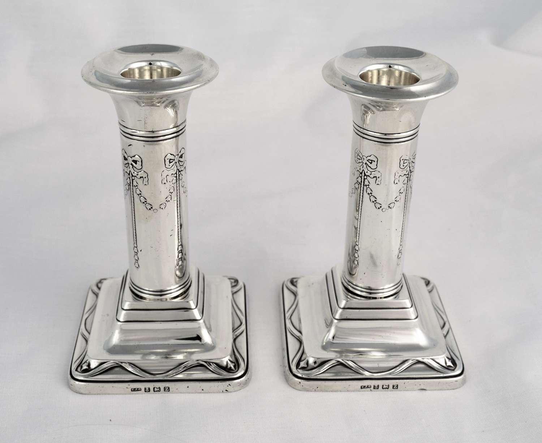 Pretty Pair George V Silver 5