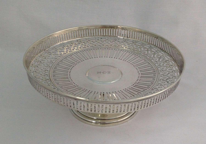 Tiffany & Co. Sterling Silver Tazza Comport 7 1/2