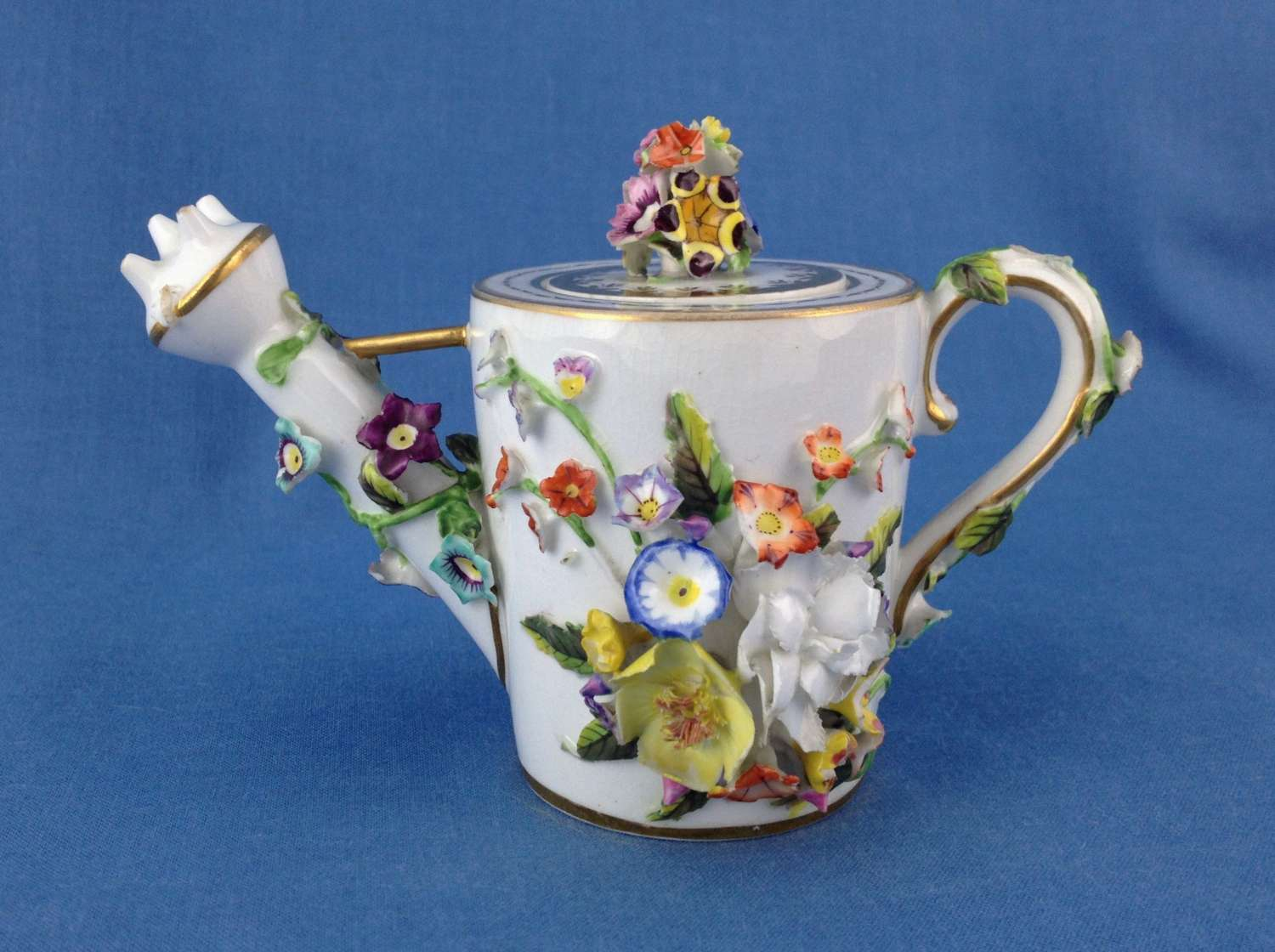 Unusual Bloor Derby Miniature Watering Can Rose Water Sprinkler