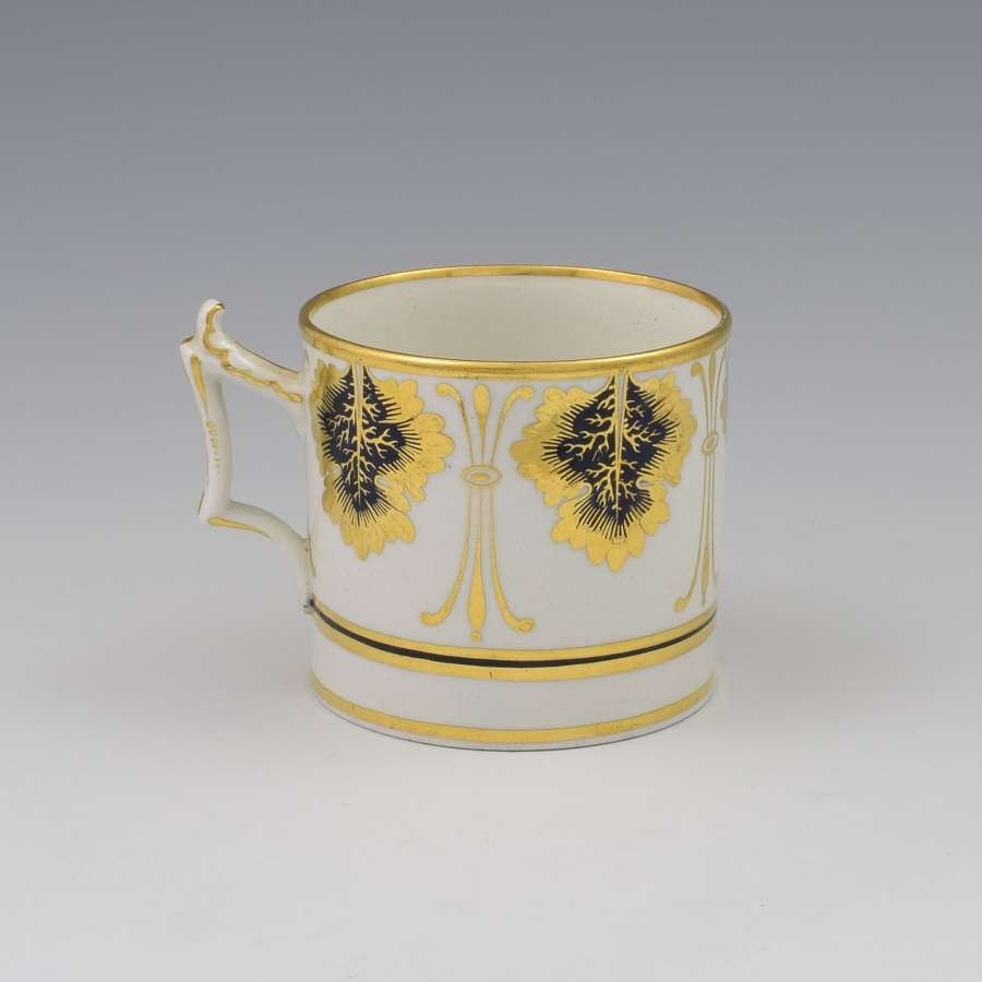 Flight Barr & Barr Worcester Porcelain Coffee Can c.1820