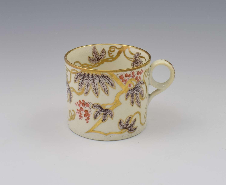 Regency Minton Porcelain Coffee Can Pattern 85 c.1805