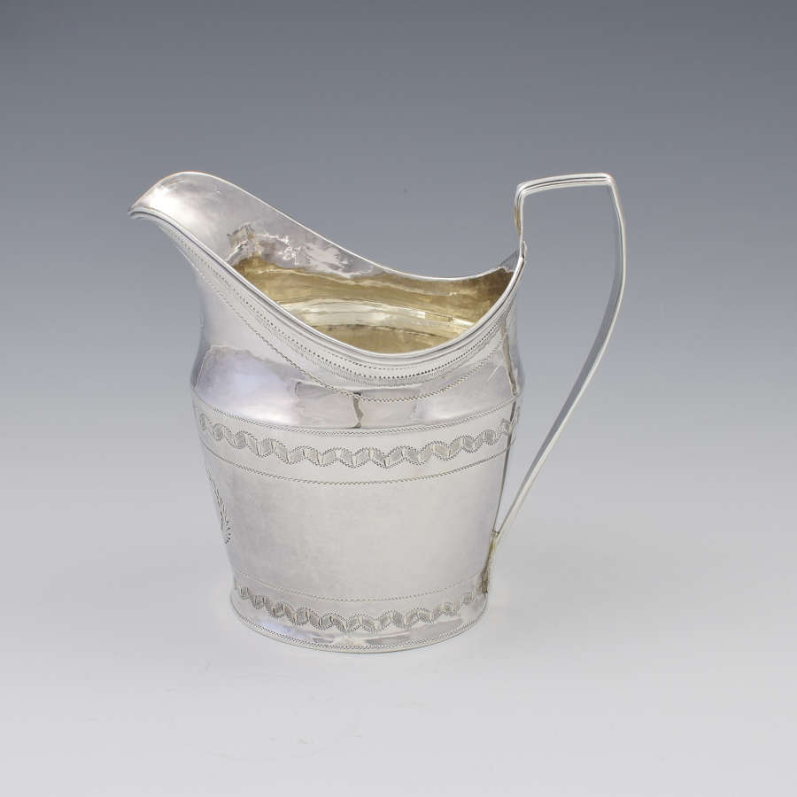 George III Silver Cream Jug London 1818