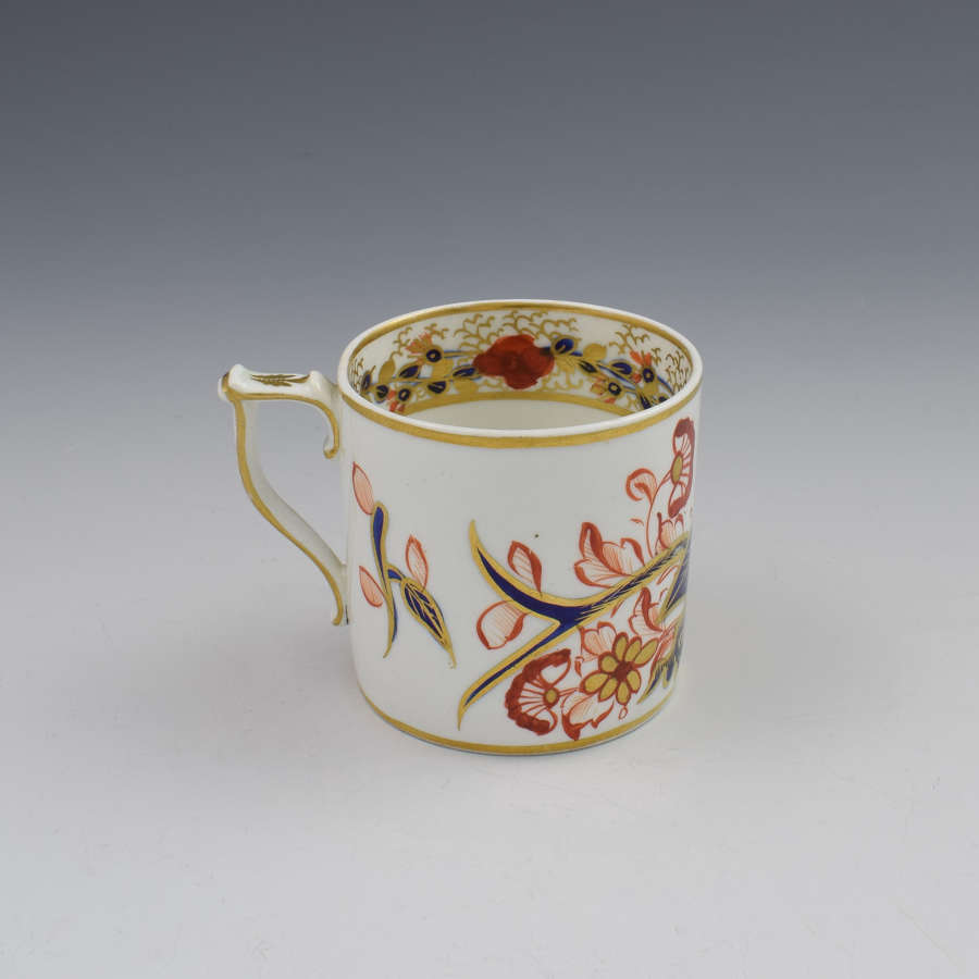 Georgian Derby Porcelain Imari Pattern Coffee Can, c.1820