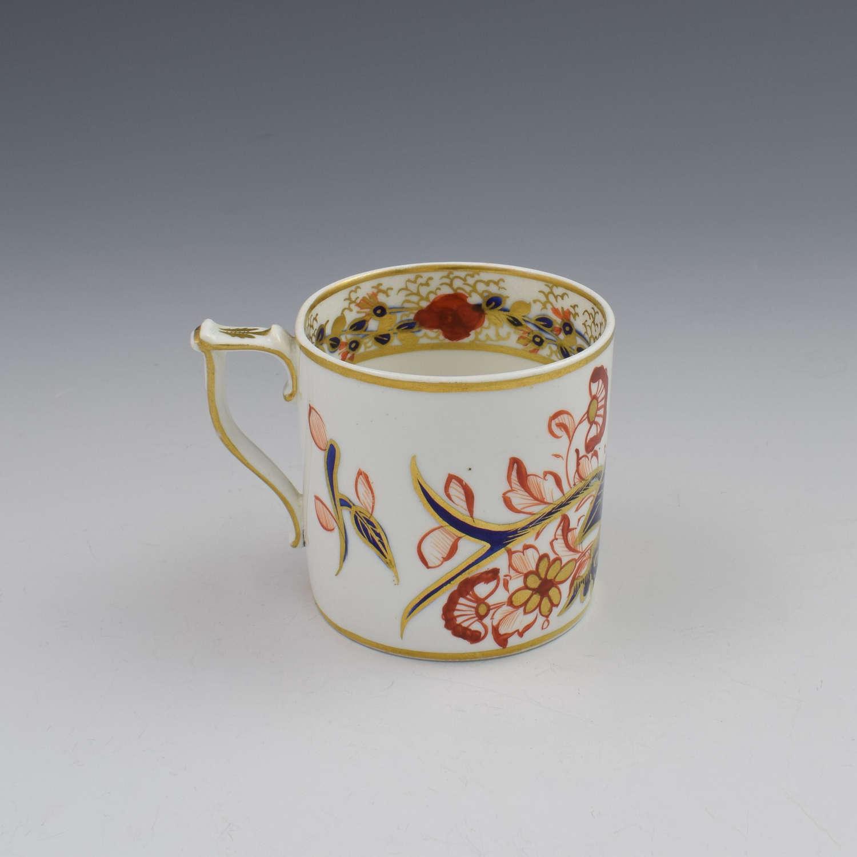 Georgian Derby Porcelain Imari Pattern Coffee Can, c.1820