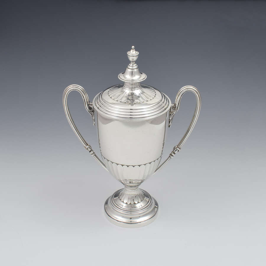 Fine Victorian Silver Trophy Cup & Cover Mappin & Webb