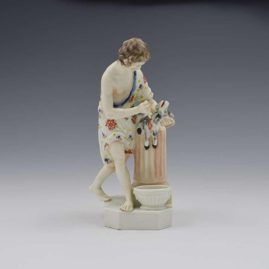 Rare Derby Porcelain Figure Sacrifice No. 14 c.1775