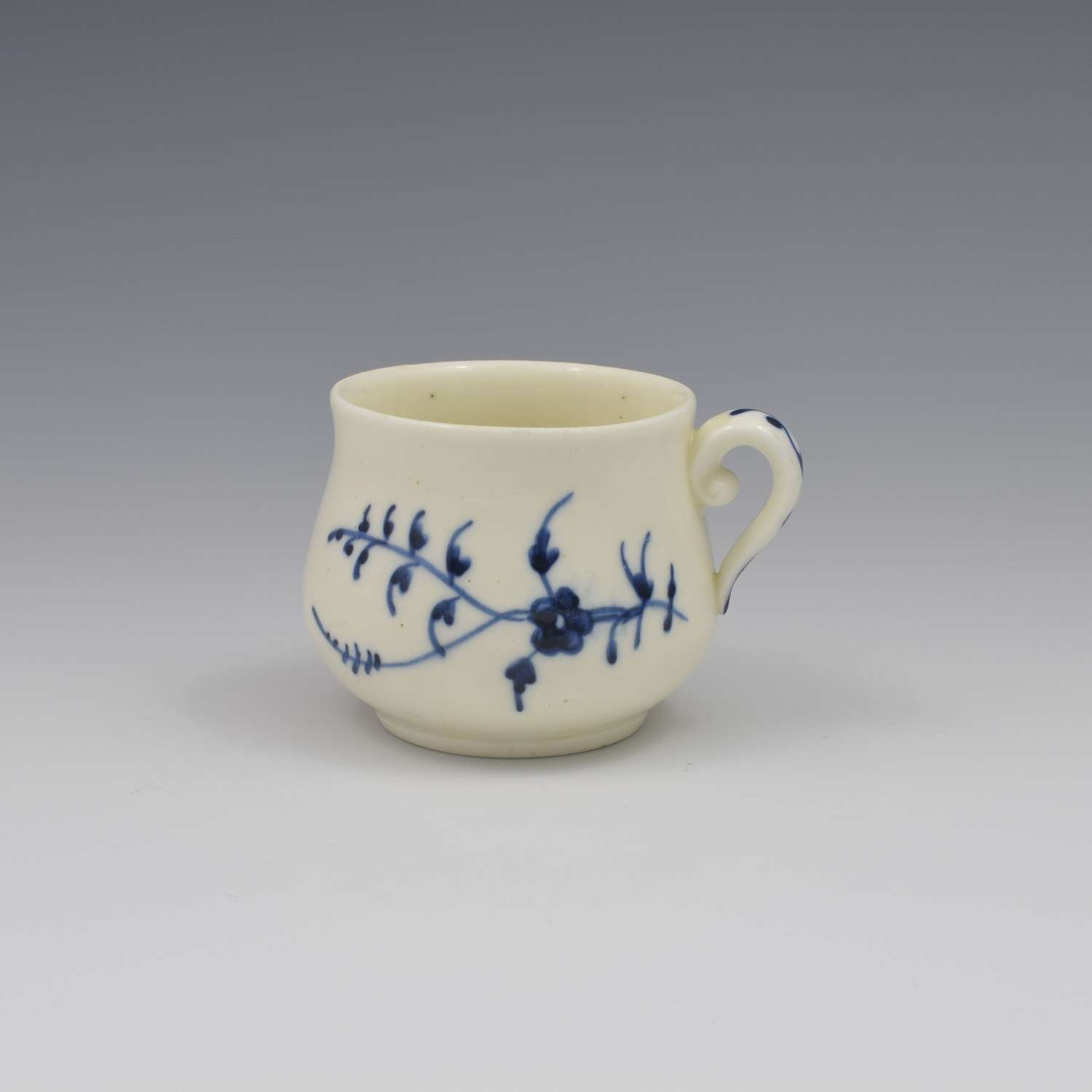 French Chantilly Soft Paste Porcelain Custard Cup c.1750