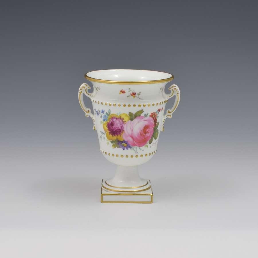 Royal Crown Derby Porcelain Vase Artist Signed Albert Gregory 1915