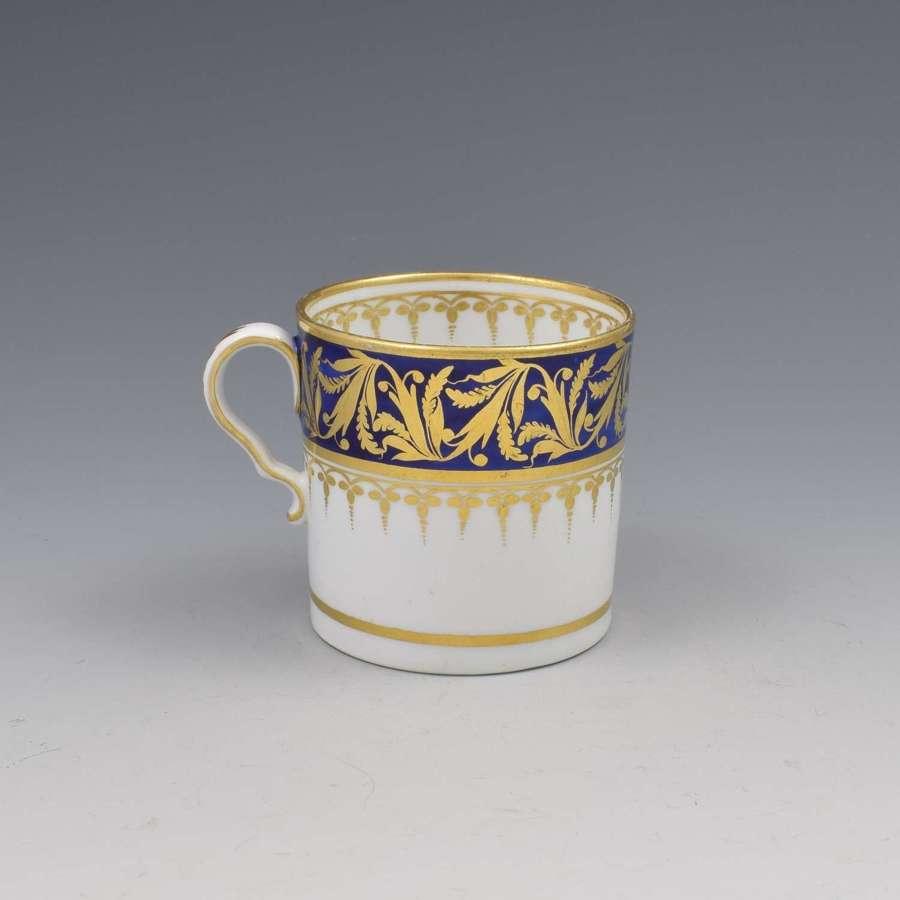 Regency Spode Porcelain Coffee Can c.1800-1810