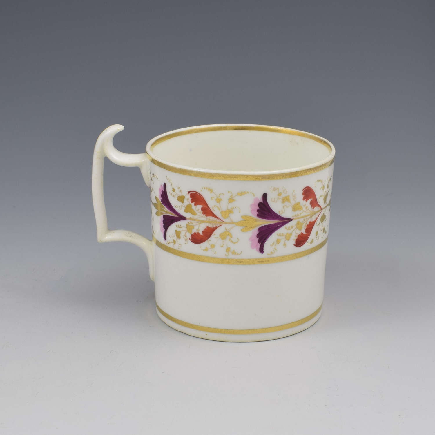 Derby Porcelain Coffee Can London Handle c.1805