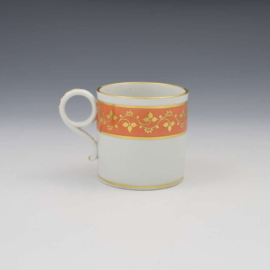 Barr Period Worcester Porcelain Coffee Can c.1805