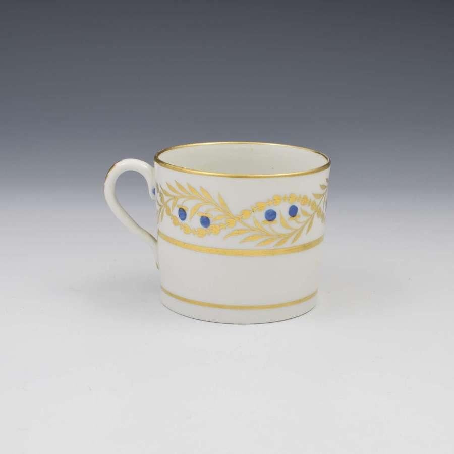 Coalport Porcelain Coffee Can c.1805 Pattern 384