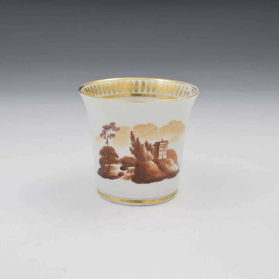 Chamberlain Worcester Baden Shape Coffee Cup c.1815