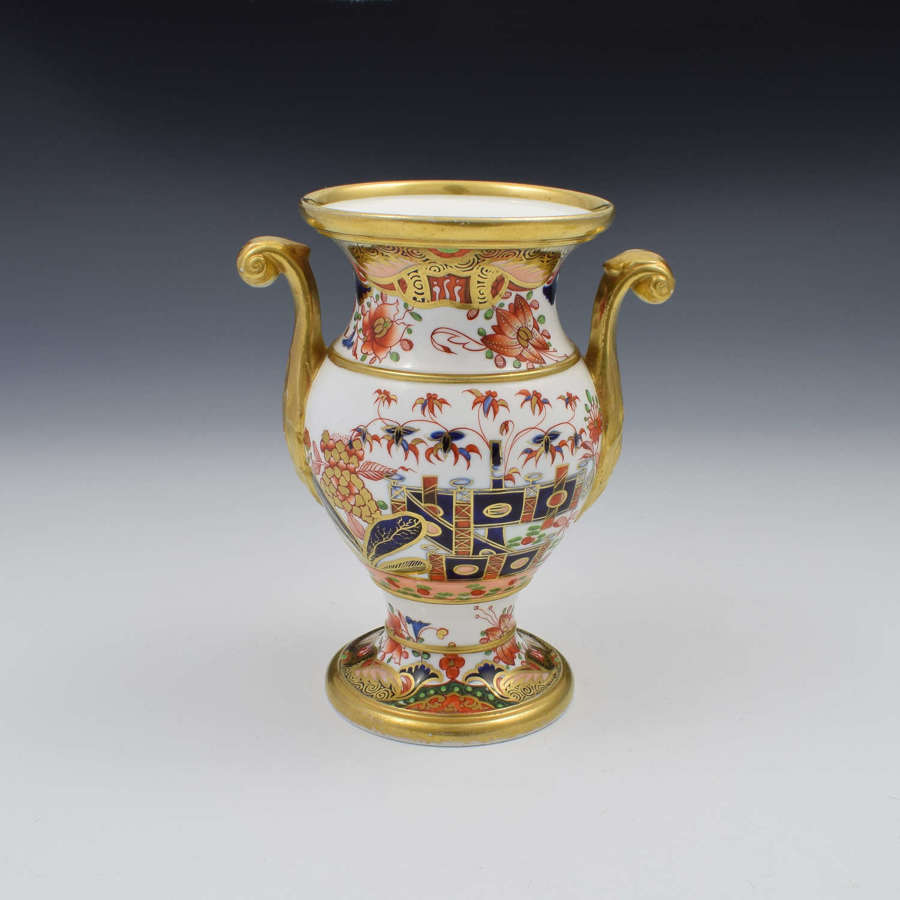 Spode Porcelain Imari Vase Pattern 967 c.1810