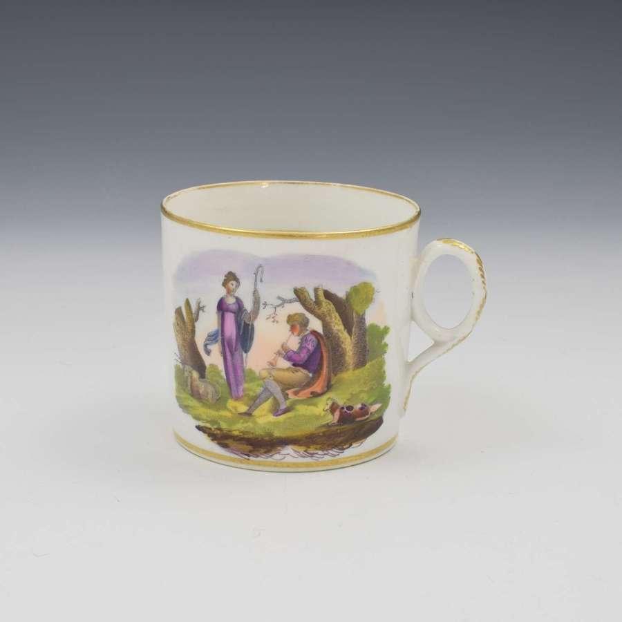 Regency New Hall Bone China Coffee Can c.1815