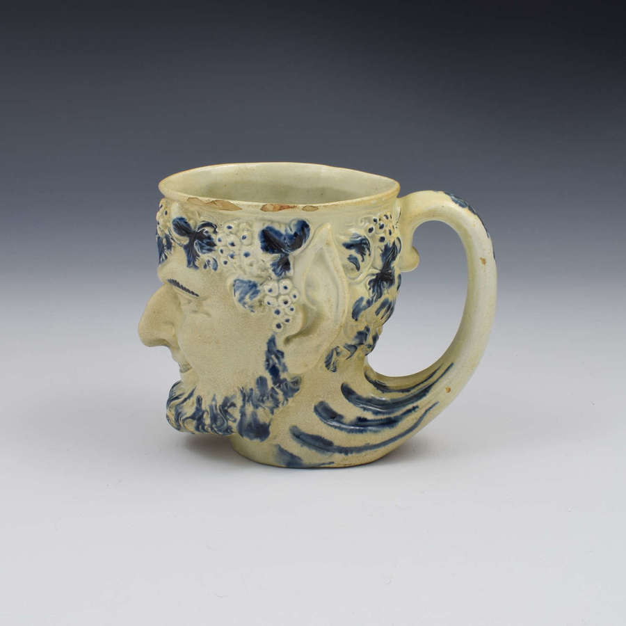 Staffordshire Pearlware Bacchus Mug c.1810