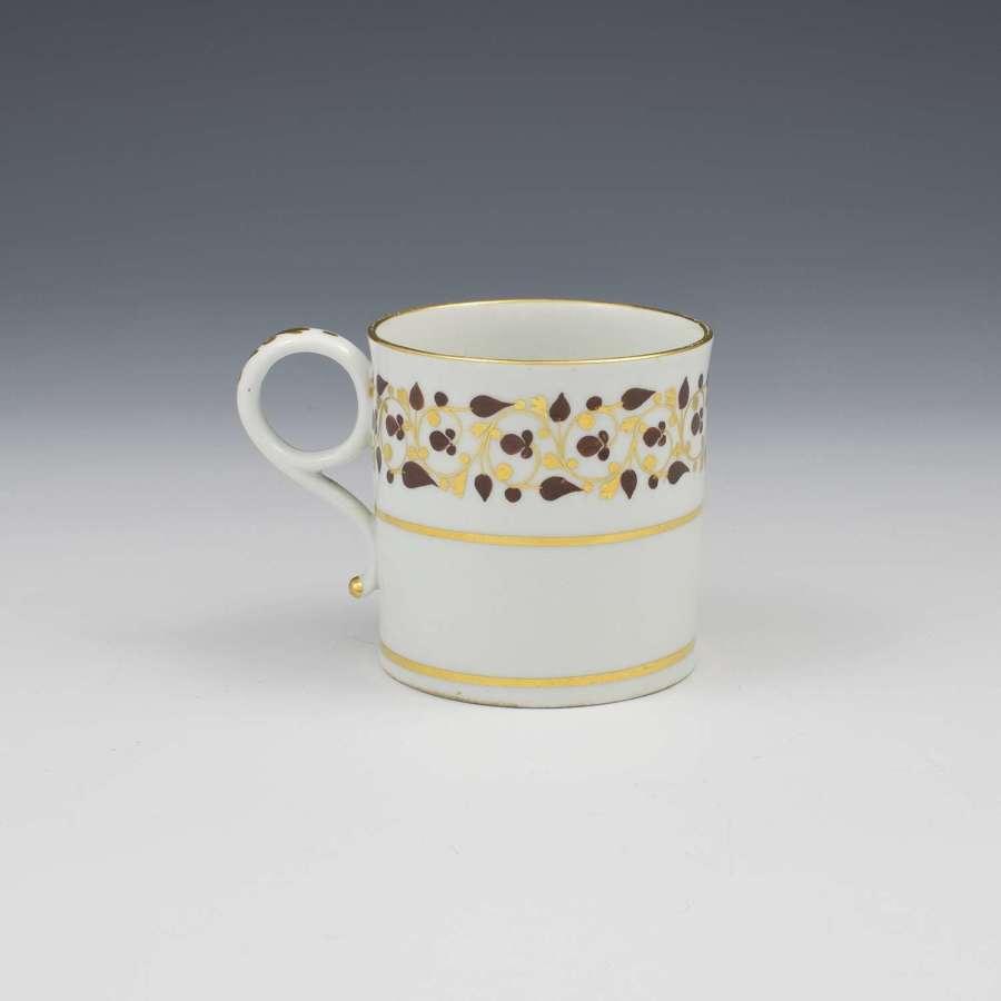 Barr Flight & Barr Worcester Porcelain Coffee Can